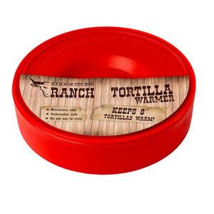 Eddingtons Tortilla Warmer Microwave Mexican Food Enchilada Quesadilla Novelty