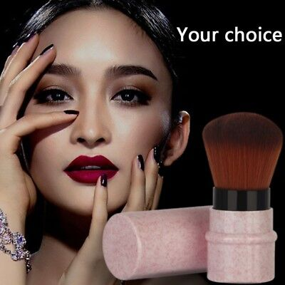 Retractable Face Brush - Retractable Makeup Brushes Powder Foundation Blush Face Kabuki Brush Tools