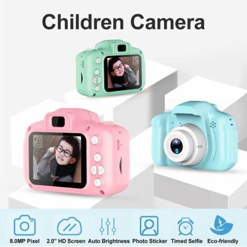 "2"" Kinderkamera Digitalkamera Full-HD 1080p Kam für Kinder 8MP Video Geschenke"