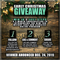 EARLY CHRISTMAS ONLINE GIVEAWAY