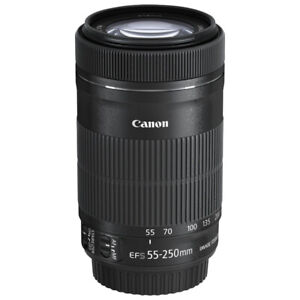 Téléobjectif Zoom Canon EF-S 55-250mm IS STM Image Stabilizer