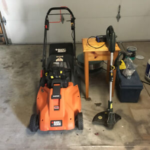 Battery Black and Decker Lawn Mower