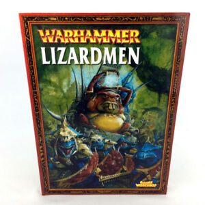 Warhammer 40K Lizardmen Armies Book 2003 Edition Games Workshop