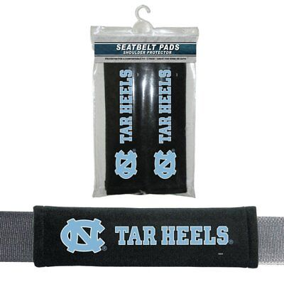 2PC NCAA North Carolina Tar Heels Car Truck Bag Seat Belt Shoulder Pads Covers ()