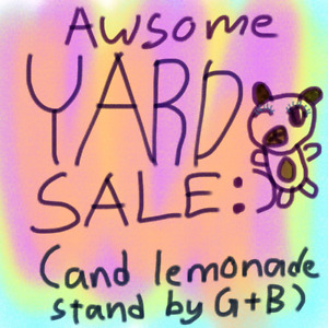 Yard sale! Everything must go!