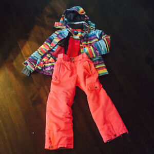 Girls Firefly Snow Suit Size 8-10