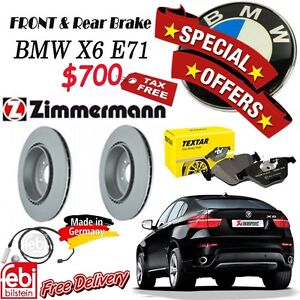 SPECIAL OFFER for Brake Set Package- BMW- X5 E70