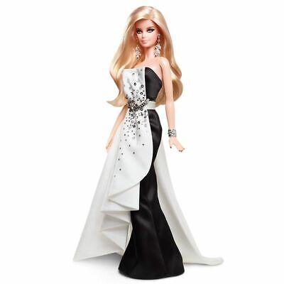 2013 Bfmc Negro y Blanco Cuentas Vestido Platino Barbie X8266 Shipper Linda...