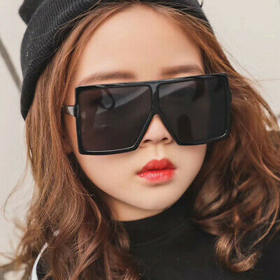 Fashion Oversized Children Square Sunglasses Baby Boy Girls Personality (Baby Girl Sunglasses)