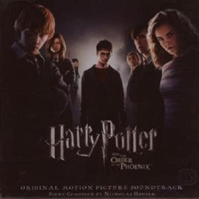 HARRY POTTER & DER ORDEN DES PHÖNIX SOUNDTRACK CD NEU