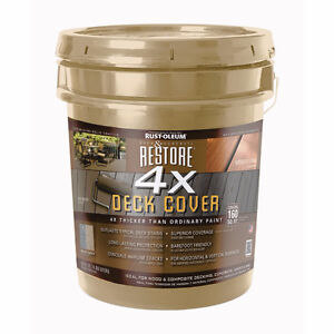 Rustoleum 4X Outdoor Deck and Fence Paint - Timberline Colour