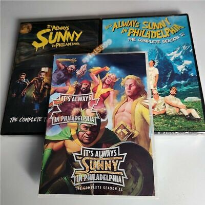 It's Always Sunny In Philadelphia: The Complete Season 12 13 14 DVD