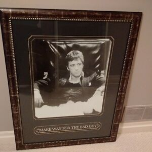 Scarface framed picture Kitchener / Waterloo Kitchener Area image 1