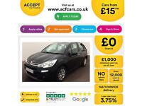 Citroen C3 1.2 VTi ( 82bhp ) 2013MY VTR+ FROM £15 PER WEEK!