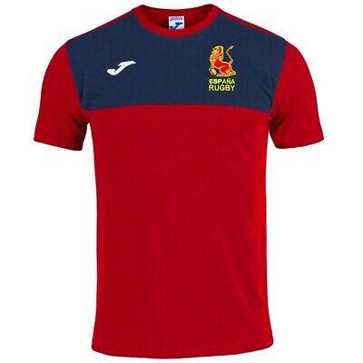 España Rugby - Camiseta T-Shirt Oficial - Joma - Talla XXL