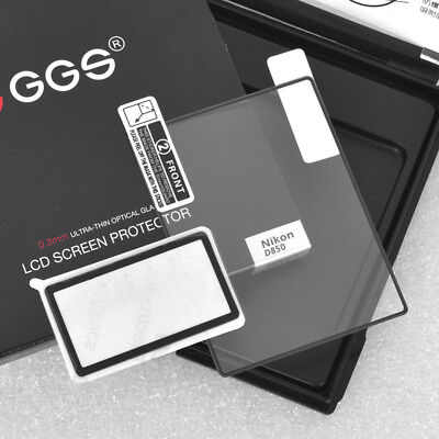 GGS IV Crystal-clear Screen Protector Glass for Nikon D850