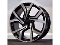 "17"" 5-100 GTi Concept Style Alloy wheels & Tyres Golf MK4, Polo, Audi A1"
