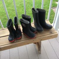 Chaussures d'eau -bottes de caoutchouc et patins