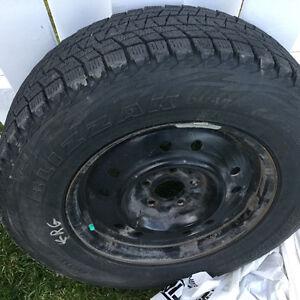 4 pneus sur jantes Saguenay Saguenay-Lac-Saint-Jean image 1