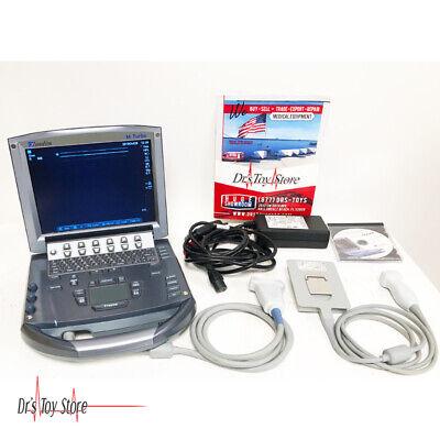 2008 Sonosite M-turbo Ultrasound Machine With 2 Probes