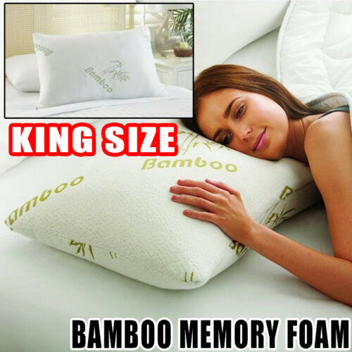 Anti Snore Pillow Bamboo Memory Foam Cooling Orthopaedic Fir