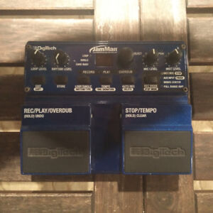 DigiTech Looper and Phrase-Sampler Pedal