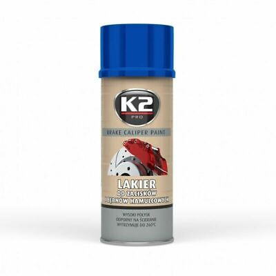 K2 BREMSSATTELLACK SPRAY 400ML BRAKE CALIPER PAINT BLAU