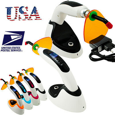 Usawireless 10w Dental Led Curing Light Lamp2000mw Teeth Whitening Accelerator