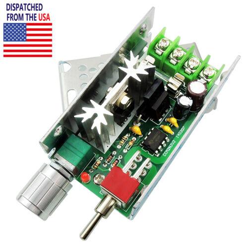 12V 24V 3A DC Motor Speed Controller Adjustable Driver Switch PWM HHO Reversing