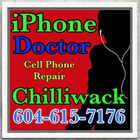 Chilliwack Cell Phone Repair, iPhone 4-4S-5-5C-5S-6-6+ and iPad