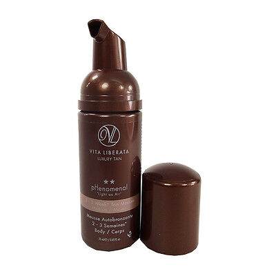 Vita Liberata Phenomenal 2-3 Week Tan Mousse -Medium 0.85 oz. No Box
