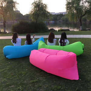LazyBag Air Sofa | Inflatable Beach Bed | Camping Bed