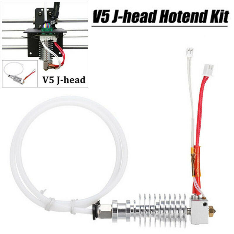 V5 J-head Hot 0.4 mm /1.75 mm 3D Printer Hotend Kit Fits Anycubic I3 Mega/kossel
