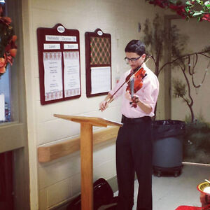 Violinist for your event!