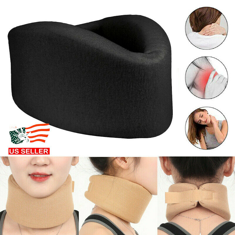 Adjustable Soft Foam Cervical Collar Neck Brace Support Shou