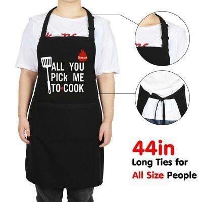 Women Household Cute Bowknot Apron Cooking Kitchen Bib Dress