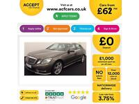 Mercedes-Benz E220 2.1TD ( 175bhp ) FROM £62 PERWEEK