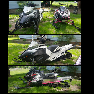 Sleds and dirt bike for sale