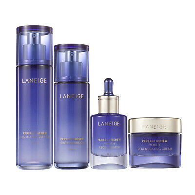LANEIGE Perfect Renew Youth Skin care Set Total Anti-aging Solution K-beauty