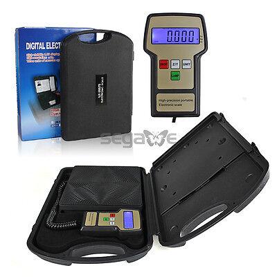 Us Ship Portable Digital Electronic Refrigerant Charging Scale Hvac 220lb Agg