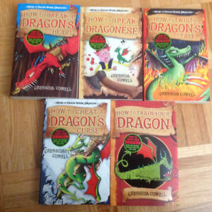 The Babysitter's Clubs and How to Train a Dragon book sets