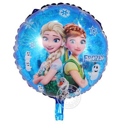 10pc Disney Frozen Elsa Birthday Mylar Party Decoration Theme Supplies Balloon ](Frozen Theme Party)