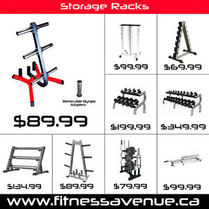 Storage Racks for Dumbbells, Weights Plates & Kettlebells – New