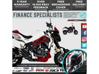 SINNIS Akuma 125 125cc Mini Midi Small Motorbike Naked Street Bike FINANCE