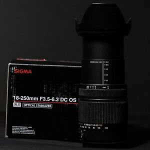SIGMA 18-250mm DC OS HSM Canon Mount - Canadian Warranty 2020