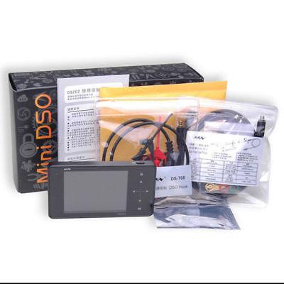 Mini Oscilloscope Ds202 Portable Digital Storage 3tft Touch Screen Dual Chanel