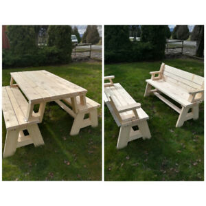 Convertible Picnic Table/Benches