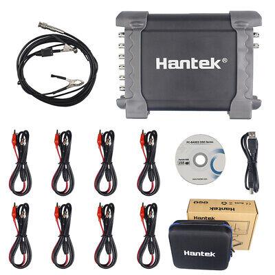 Handheld Digital Oscilloscope Automotive 8 Channels Analog Analyzer Logic Bag