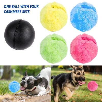 Random Colour 1PC Magic Roller Ball Dog Cat Pet Toy Clean Ball Pet Ball Toy