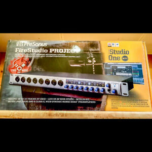 PreSonus Firestudio Project (carte de son/interface audio firewi